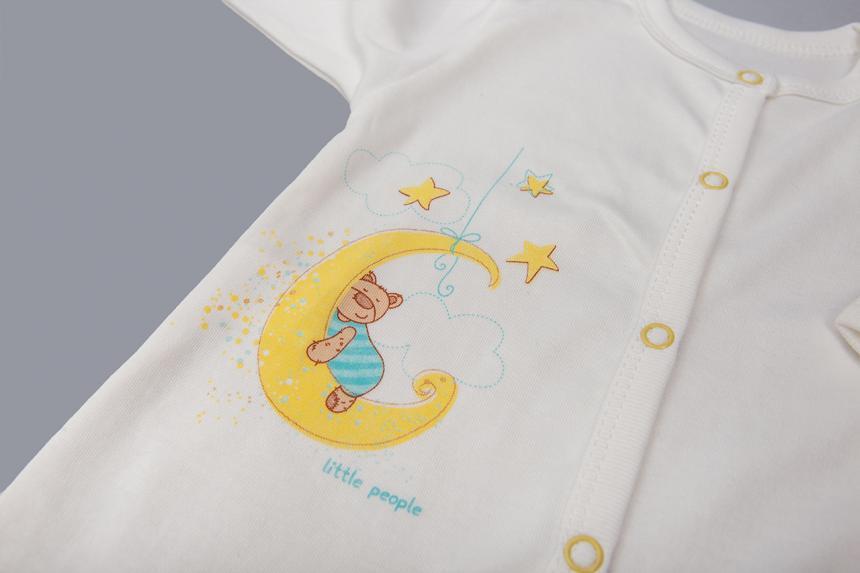 Спальник для мальчика  с рисунком Маленькие Люди 1117-110