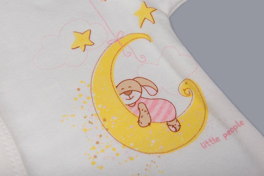 Спальник для девочки с рисунком Маленькие Люди 1117-110