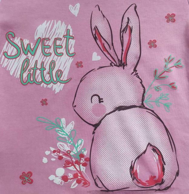 Пижама для девочки с зайчиком