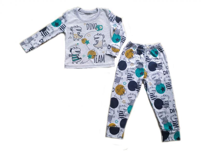 Пижама для мальчика с динозавром