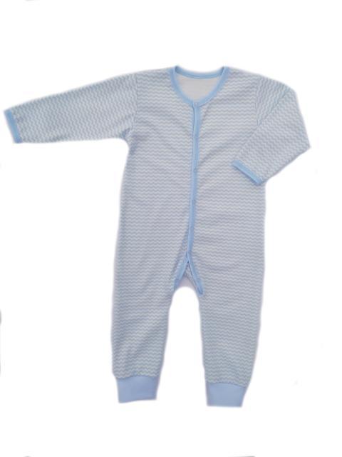 Комбинезон для мальчика с открытой ножкой Маленькие Люди 9301-110