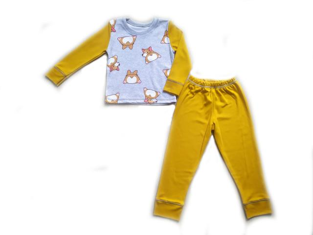 Пижама для девочки с корги