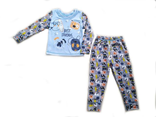 Пижама для мальчика с рисунком Best Friends