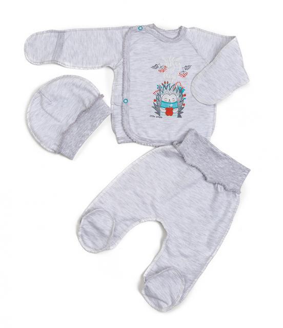 """Комплект байковый для новорождённого """"Ежик"""""""