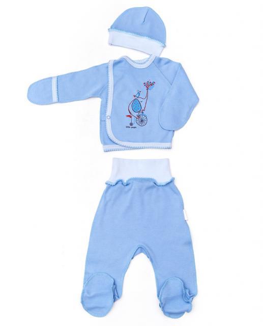 """Комплект для новорождённого""""Слоник"""""""