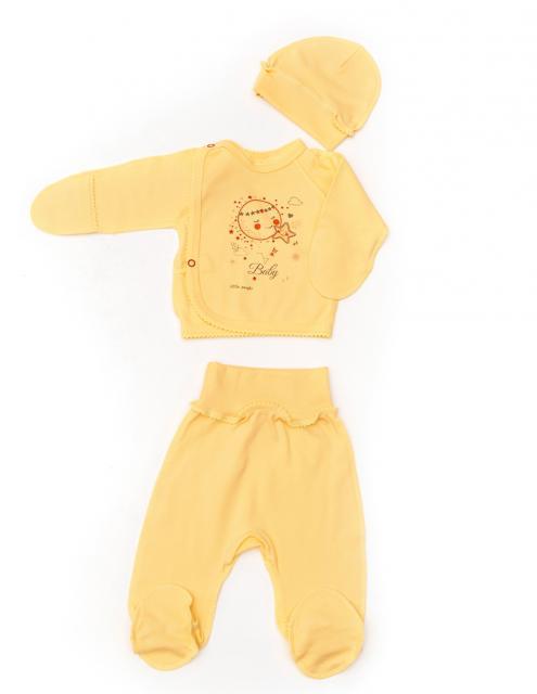 """Комплект для новорождённого """"Солнышко"""""""