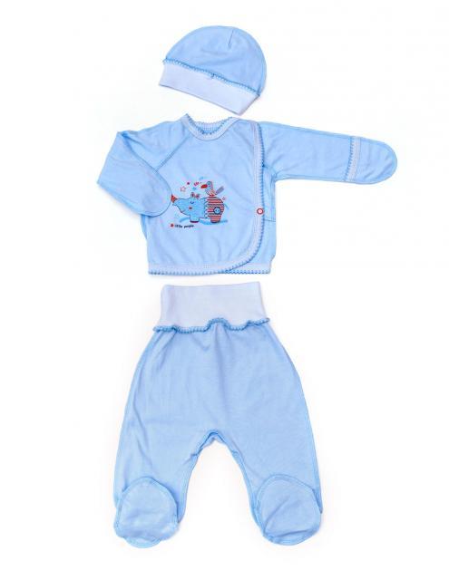 """Комплект для новорождённого""""Слонёнок"""""""