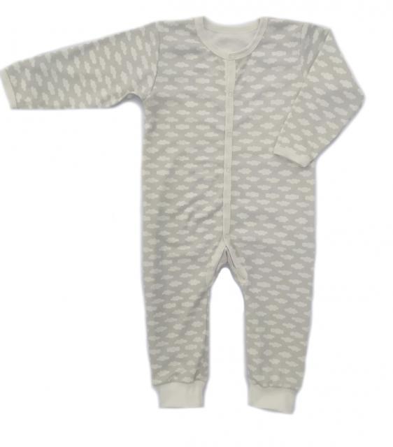 Комбинезон для мальчика (девочки) с открытой ножкой Маленькие Люди 9401-110