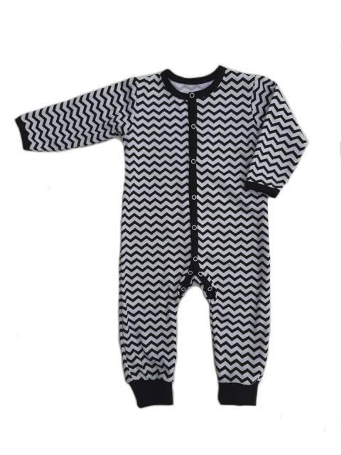 Комбинезон для мальчика (девочки) с открытой ножкой Маленькие Люди 9501-110