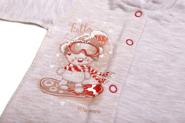 Боді для новонароджених малюків  немовлят хлопчиків та  дівчаток Маленькі люди