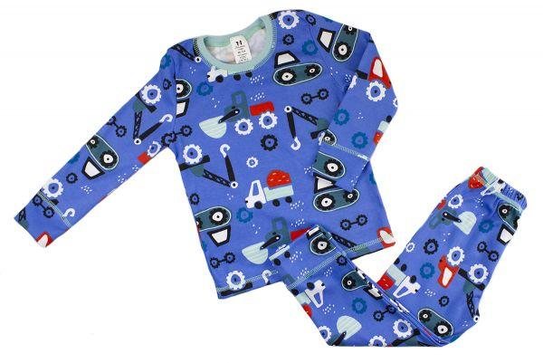 Піжама дитяча для хлопчика кофта та штани комплект для сну ТМ Маленькі люди