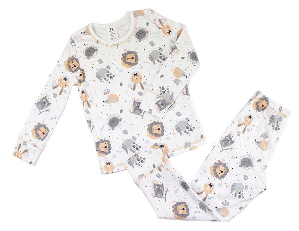 Пижама детская для девочки, комплект для сна Маленькие люди