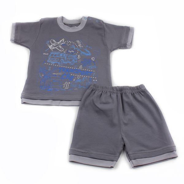 Костюм комплект (футболка і штани ) дитячий для хлопчиків Маленькі люди (506-333)