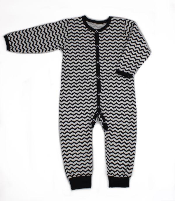 Комбінезон чоловічок (сліп) для немовлят хлопчика дівчинки Маленькі люди