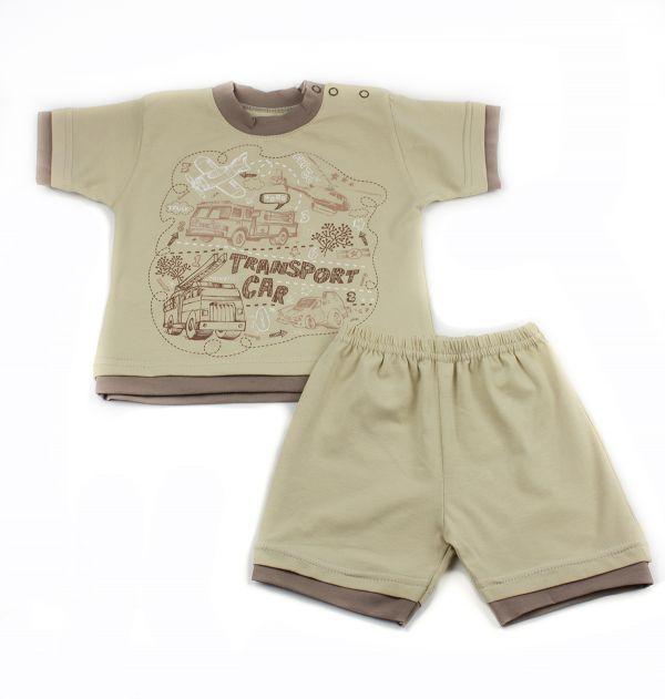Костюм комплект (футболка і штани) дитячий для хлопчиків Маленькі люди (506-333-2)