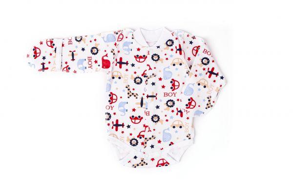 Трикотажний боді для новонароджених немовлят хлопчиків Маленькі люди