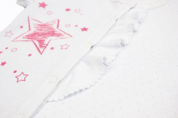 Пісочник дитячий (комбінезон боді) для немовлят  дівчаток Маленькі люди (325-123-2)
