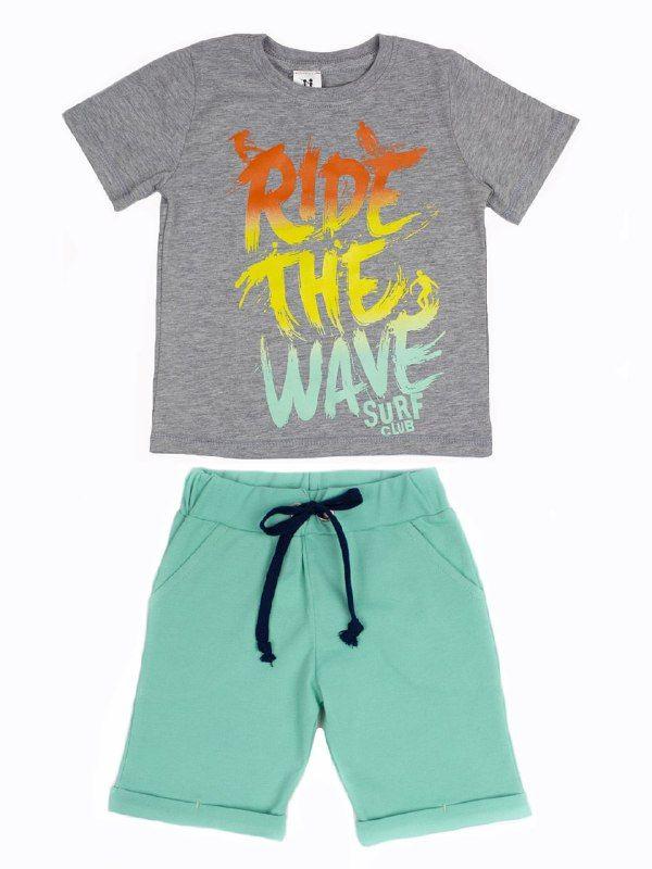 Костюм комплект (футболка і штани) дитячий для хлопчиків Маленькі люди (30201111)