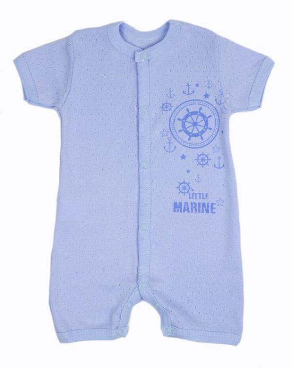 Пісочник дитячий (комбінезон боді) для немовлят хлопчиків  Маленькі люди (325-123-4)