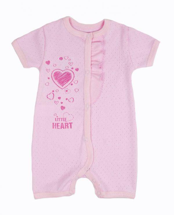 Пісочник дитячий (комбінезон боді) для немовлят  дівчаток Маленькі люди (325-123-1)