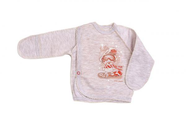 Льоля (кофточка) для новонароджених немовлят хлопчика (дівчинки) Маленькі люди