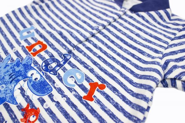 Пісочник дитячий (комбінезон боді) для немовлят хлопчиків  Маленькі люди (4701-333)