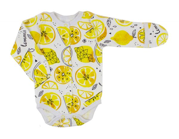 Боді трикотажний для дівчинки  (хлопчика) з довгим рукавом Маленькі люди 3050-110