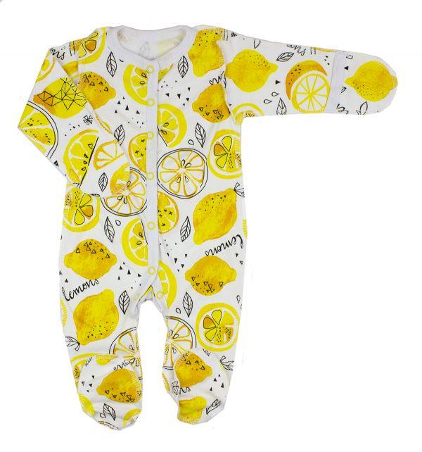 Комбінезон сліп чоловічок (боді) для новонароджених немовлят  дівчаток Маленькі люди