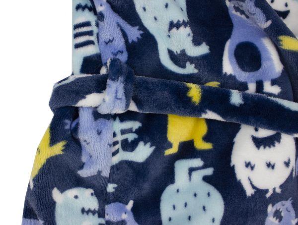 Дитячий халат для хлопчика махровий ТМ Маленькі люди