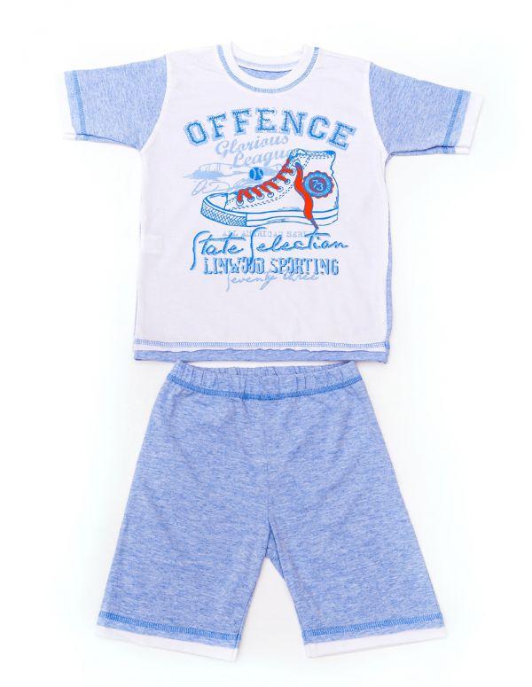 Костюм комплект (футболка і штани) дитячий для хлопчиків Маленькі люди (405-111)